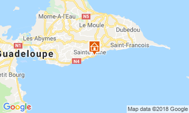 Map Sainte Anne (Guadeloupe) Apartment 69395
