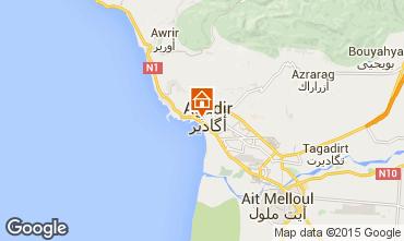 Map Agadir Apartment 61035