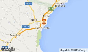 Map Noto Apartment 90044