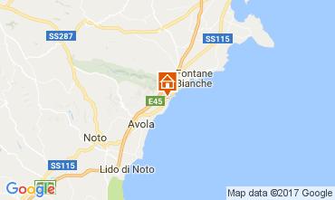 Map Noto Villa 109198