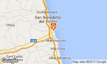 Map San Benedetto del Tronto Apartment 88110