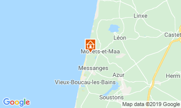 Map Moliets Villa 119513