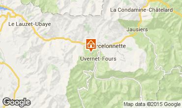 Map Pra Loup Apartment 91602