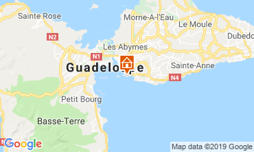 Map Gosier (Guadeloupe) Apartment 117735