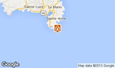 Map Sainte Anne (Martinique) Studio apartment 78983