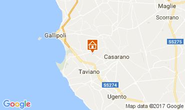 Map Gallipoli Villa 108209