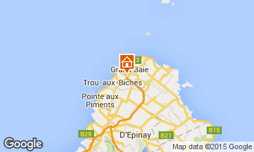 Map Grand Baie Villa 75584