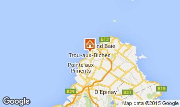 Map Trou-aux-biches Villa 16720