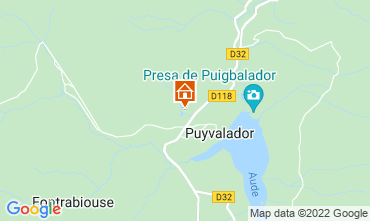 Map Puyvalador Chalet 116935