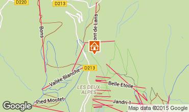 Map Les 2 Alpes Apartment 87190