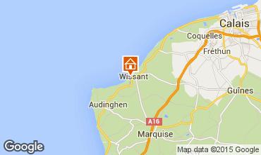 Map Wissant Villa 50973
