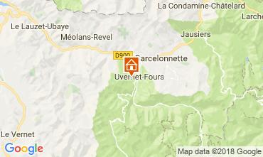 Map Pra Loup Apartment 108350