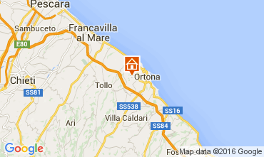 Map Ortona House 102650