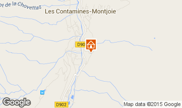 Map Les Contamines Montjoie Chalet 941