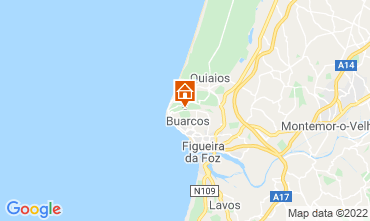 Map Figueira da Foz B&B 11824