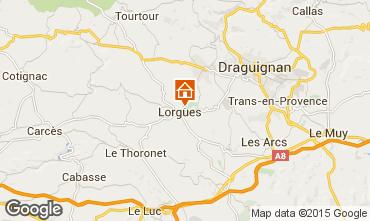 Map Lorgues Apartment 68957
