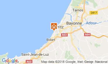 Map Biarritz Apartment 6379