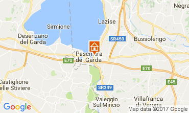Map Peschiera del Garda Apartment 70850