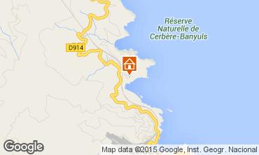Map Banyuls-sur-Mer Apartment 71534