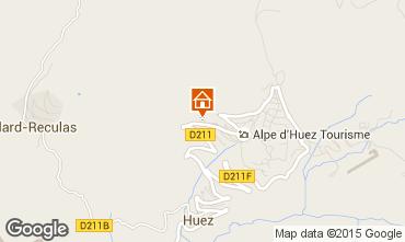 Map Alpe d'Huez Apartment 92