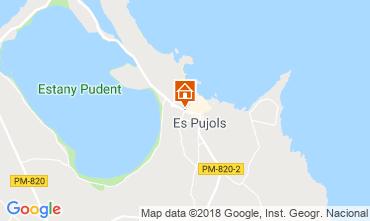 Map Es Pujols Apartment 116645
