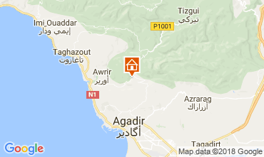 Map Agadir Villa 109071