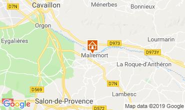 Map Aix en Provence House 91300