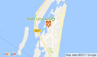 Map Port Leucate Studio apartment 6310