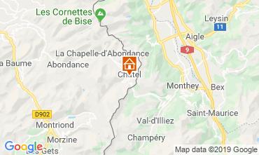 Map Châtel Apartment 117775