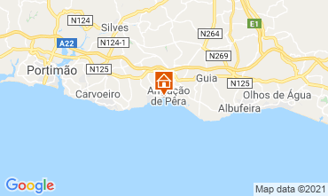 Map Albufeira Apartment 32206