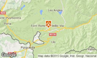 Map Font Romeu Apartment 4136