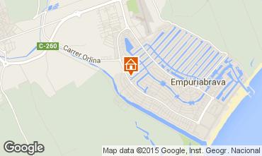 Map Empuriabrava Villa 51978