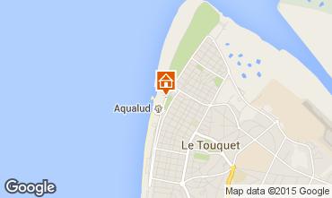 Map Le Touquet Studio apartment 71644