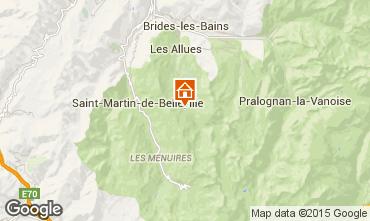 Map Méribel Apartment 65812