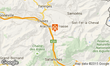 Map Les Carroz d'Araches Chalet 90862