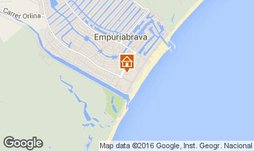 Map Empuriabrava Apartment 77084