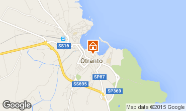 Map Otranto Apartment 77231