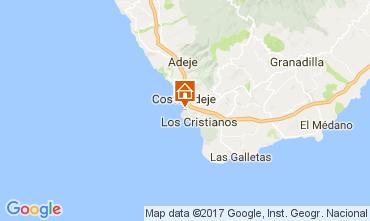 Map Playa de las Américas Apartment 111248