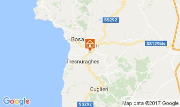 Map Bosa Apartment 110099