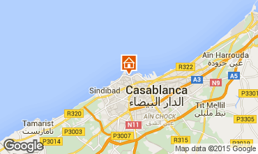 Map Casablanca Apartment 9024