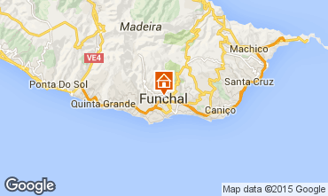 Map Funchal Bungalow 57060
