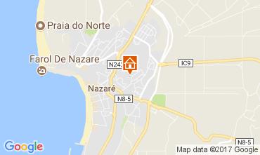 Map Nazaré Apartment 112557