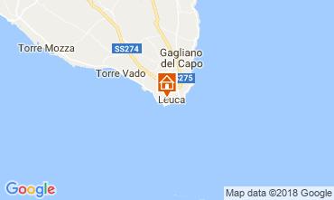 Map Santa Maria di Leuca Apartment 114748