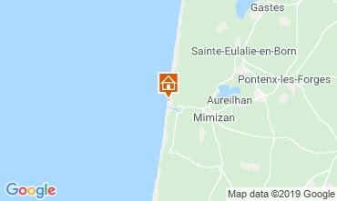 Map Mimizan Apartment 104352