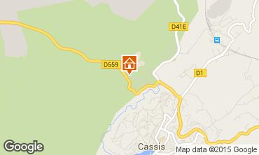 Map Cassis Flat 77602