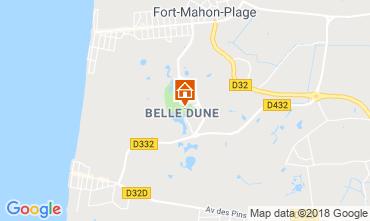 Map Fort Mahon Apartment 95691