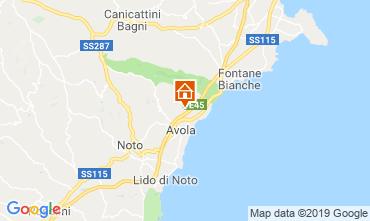 Map Syracuse Villa 118105