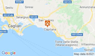 Map Quartu Sant'Elena Apartment 118386