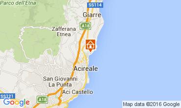 Map Acireale Apartment 45215