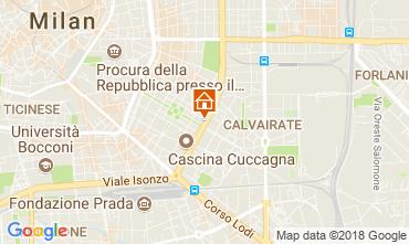 Map Milan Apartment 113844